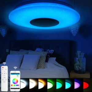 LED Ceiling Light With Smart Control and Bluetooth Speaker
