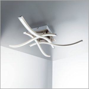 Minimalist Abstract Ceiling Lamp – Led Boards Included