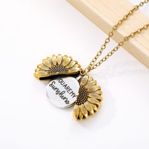 """Sunflower Necklace – """"You Are My Sunshine"""""""