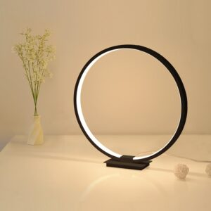 Contemporary Table Lamp – The Circle