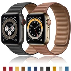Apple Watch Leather Strap – Magnetic Link